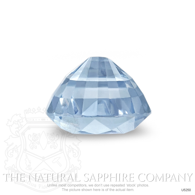 Natural Untreated Greenish Blue Sapphire U5250 Image 3