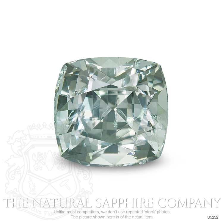 Natural Untreated Green Sapphire U5252 Image