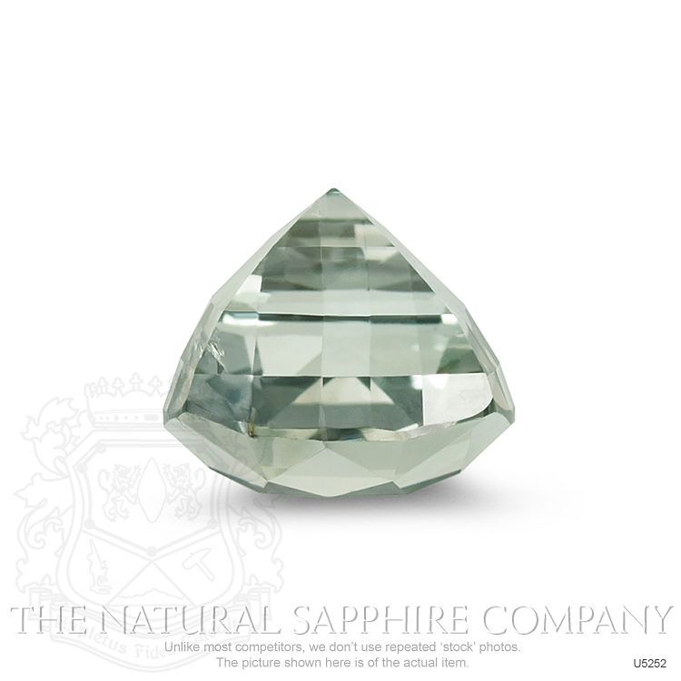 Natural Untreated Green Sapphire U5252 Image 3