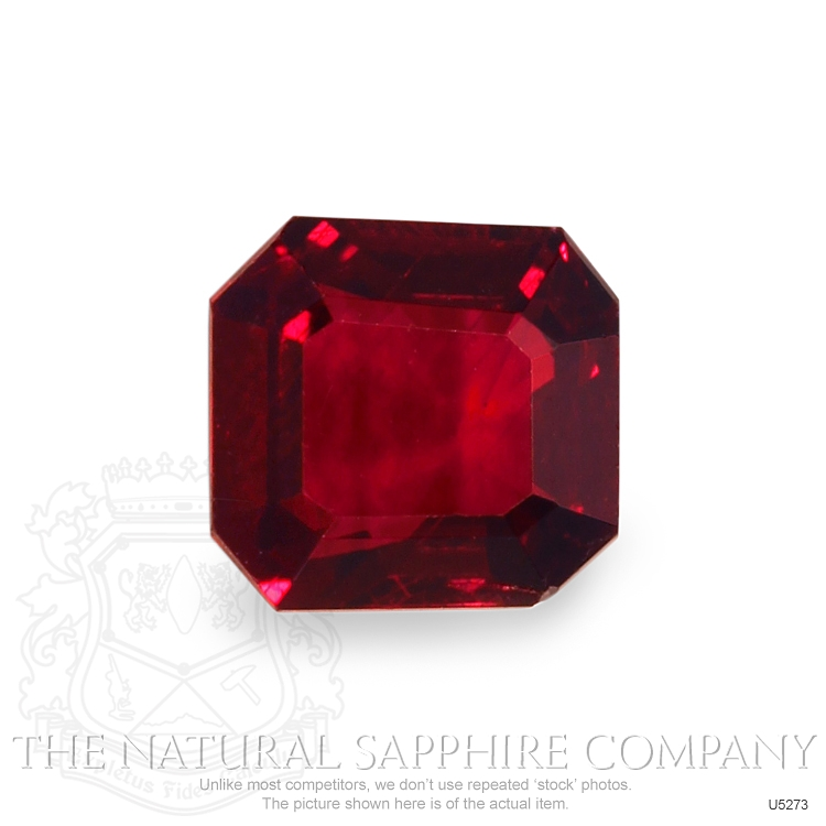 Natural Untreated Ruby U5273 Image