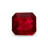 1.00ct Mozambique Asscher Ruby - U5274