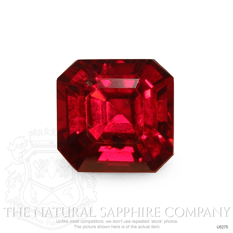 Natural Untreated Ruby U5275 Image