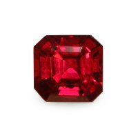 1.01ct Mozambique Emerald Cut Ruby - U5275