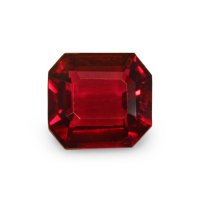 1.03ct Mozambique Emerald Cut Ruby - U5276