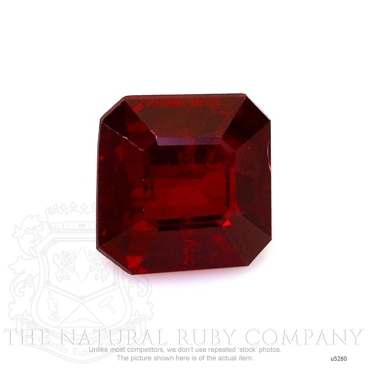 Natural Untreated Ruby U5280 Image
