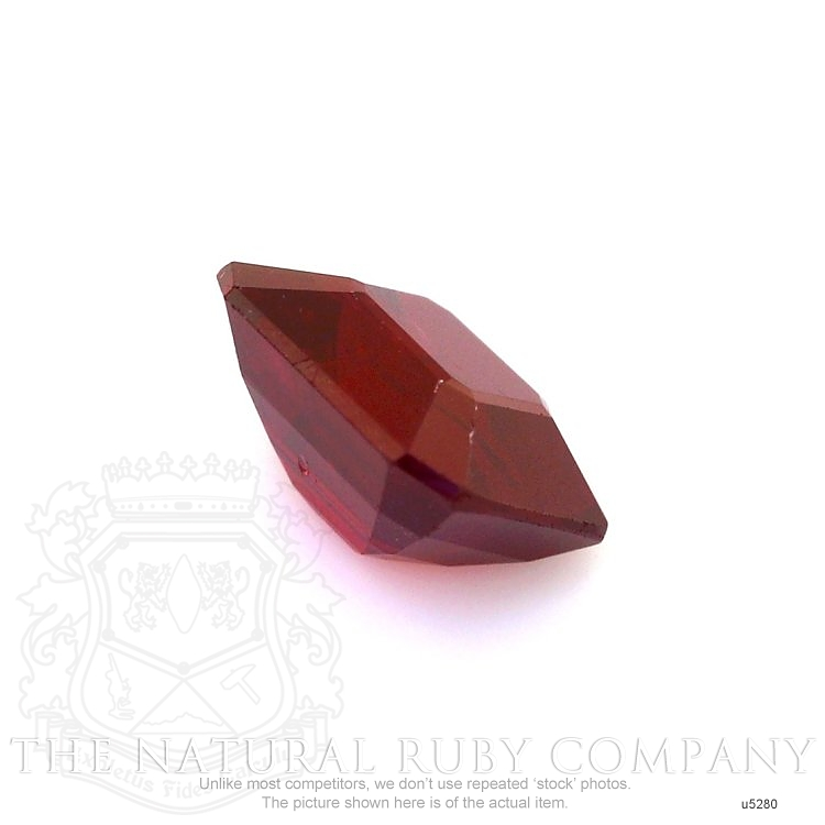 Natural Untreated Ruby U5280 Image 3