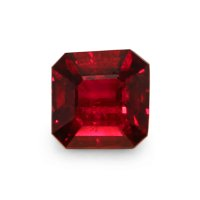 1.55ct Mozambique Asscher Ruby - U5280