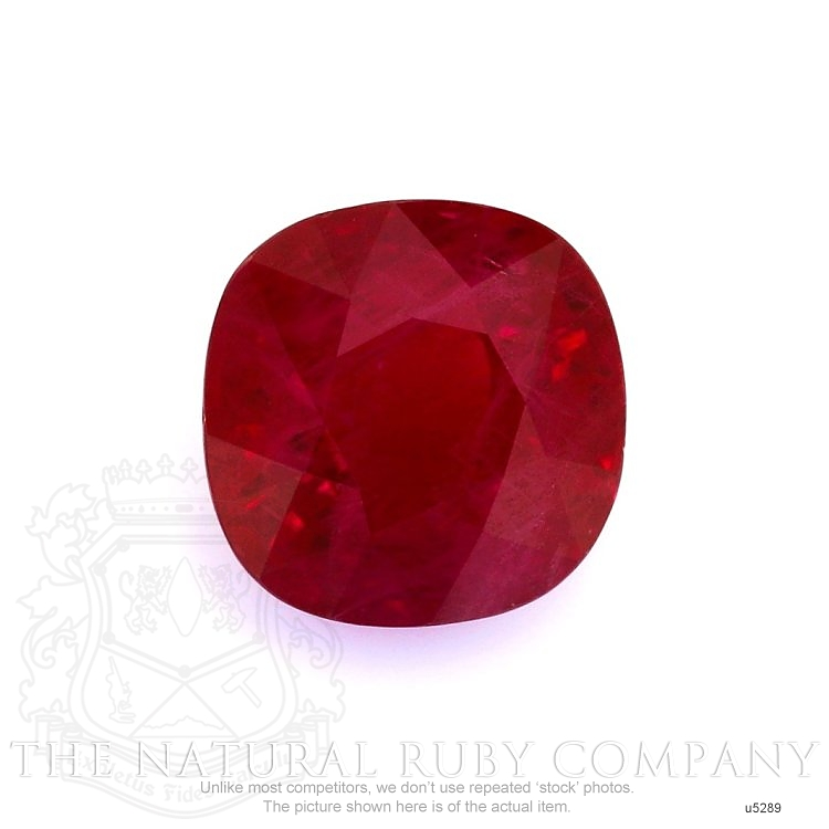 Natural Ruby U5289 Image