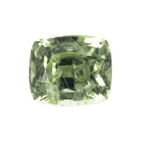 1.91ct Montana Cushion Yellowish Green Sapphire - U5299