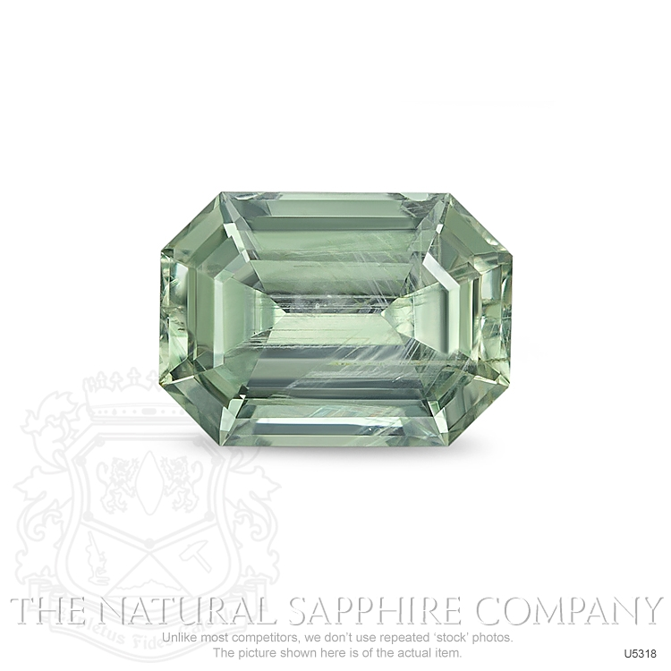 Natural Untreated Yellowish Green Sapphire U5318 Image