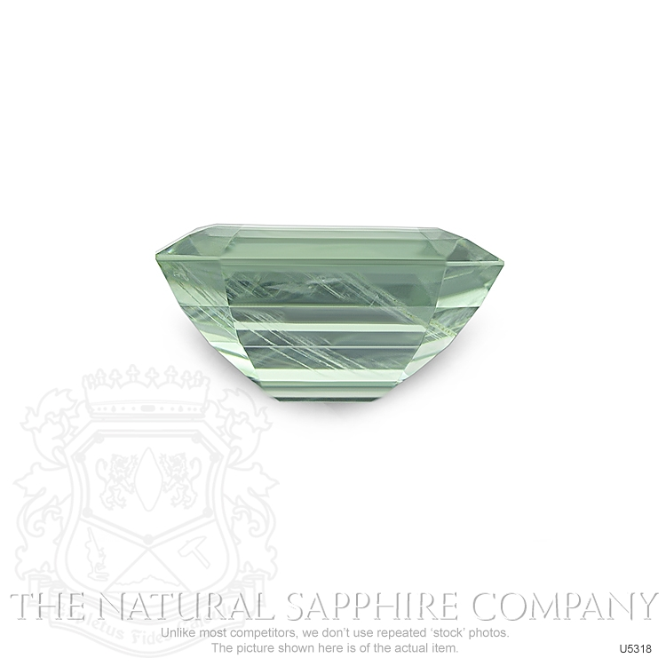 Natural Untreated Yellowish Green Sapphire U5318 Image 2