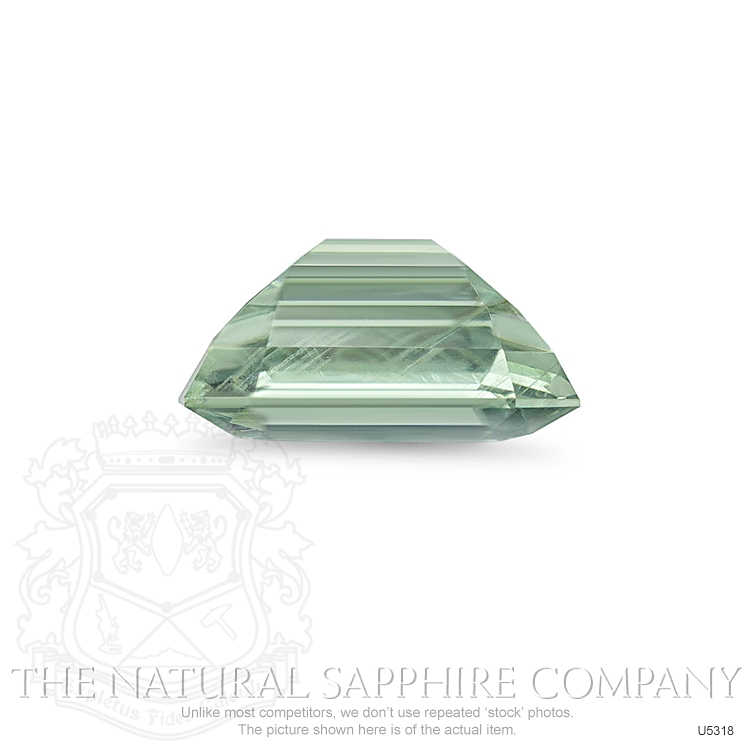 Natural Untreated Yellowish Green Sapphire U5318 Image 3