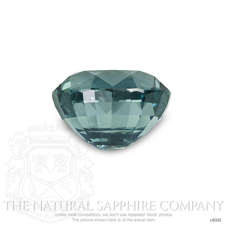 Natural Untreated Greenish Blue Sapphire U5332 Image 2