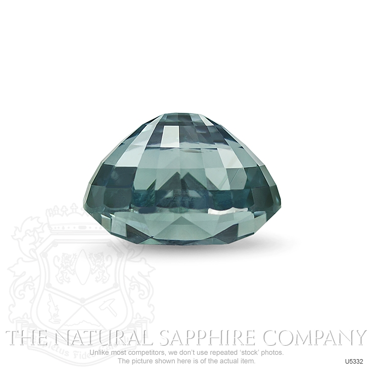 Natural Untreated Greenish Blue Sapphire U5332 Image 3