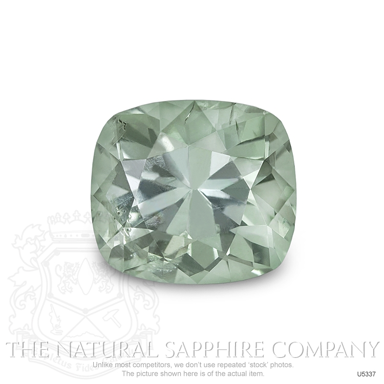 Natural Untreated Lime Sapphire U5337 Image