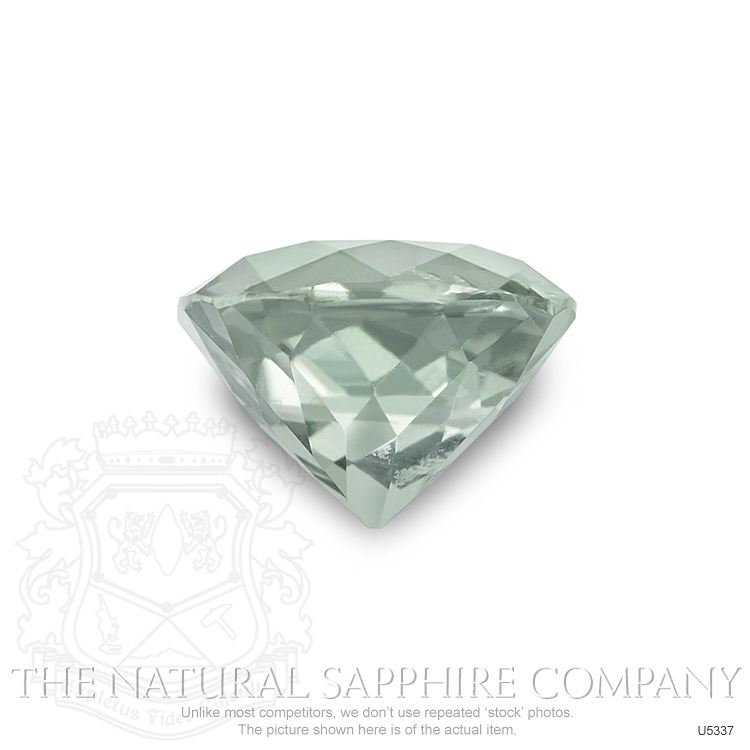 Natural Untreated Lime Sapphire U5337 Image 2