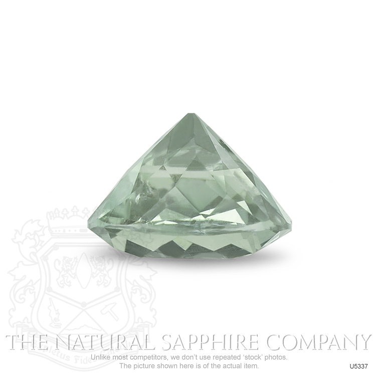 Natural Untreated Lime Sapphire U5337 Image 3