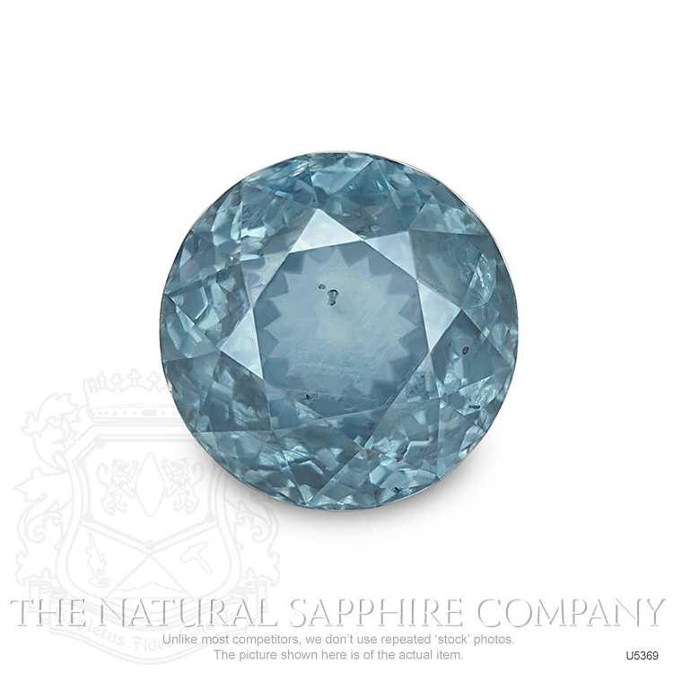 Natural Untreated Greenish Blue Sapphire U5369 Image