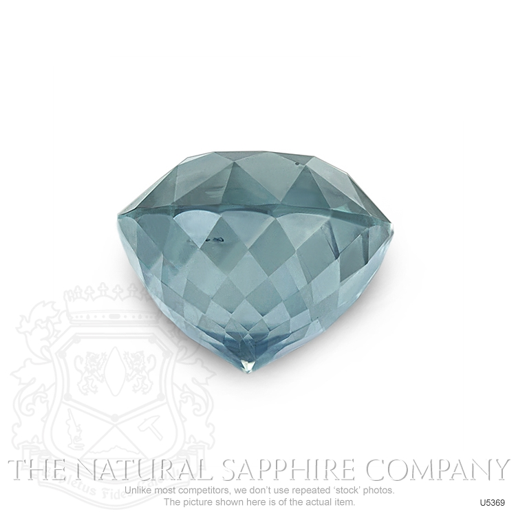 Natural Untreated Greenish Blue Sapphire U5369 Image 2