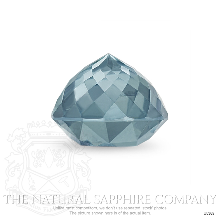 Natural Untreated Greenish Blue Sapphire U5369 Image 3