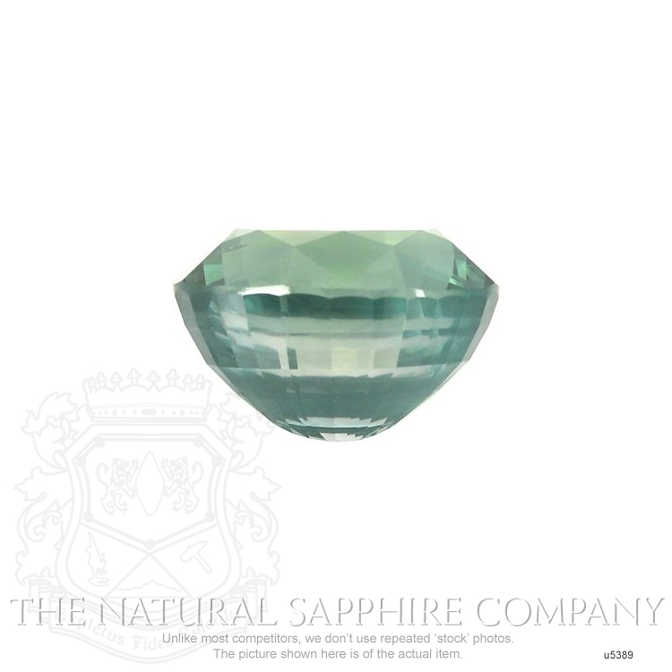 Natural Untreated Green Sapphire U5389 Image 2