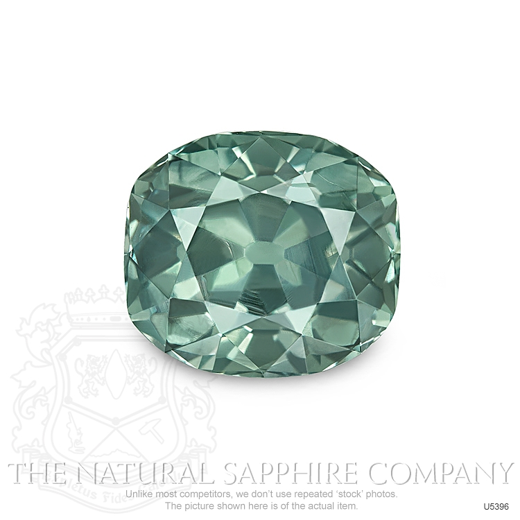 Natural Untreated Green Sapphire U5396 Image