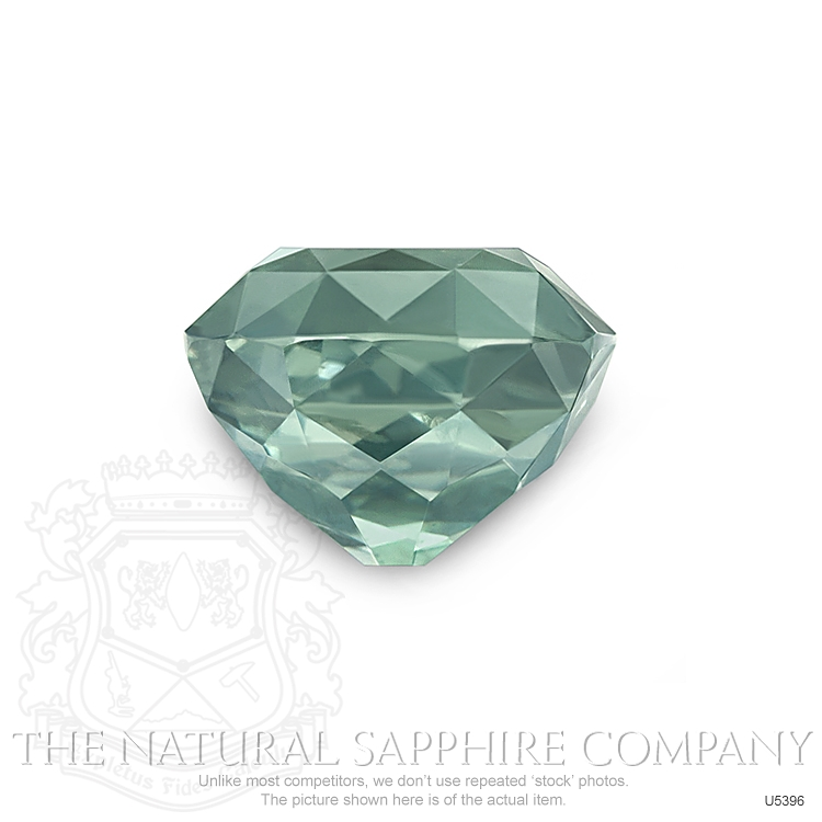 Natural Untreated Green Sapphire U5396 Image 2
