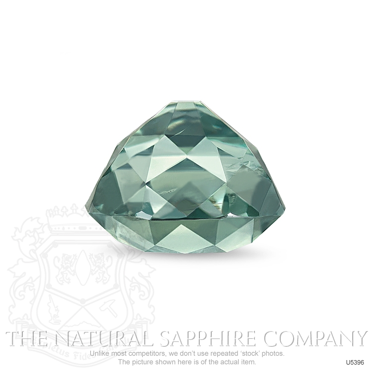 Natural Untreated Green Sapphire U5396 Image 3