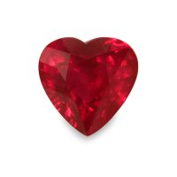 2.00ct Burma (Myanmar) Heart Ruby - U5436