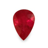 2.09ct Burma (Myanmar) Pear Ruby - U5443