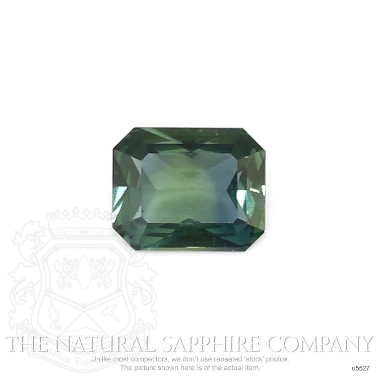 Natural Untreated Yellowish Green Sapphire U5527 Image