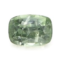2.89ct Montana Cushion Yellowish Green Sapphire - U5710