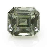 1.94ct Montana Asscher Greenish Brown Sapphire - U5714