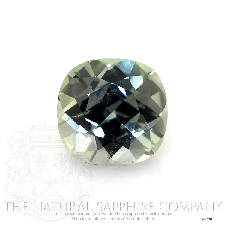 Natural Untreated Yellowish Green Sapphire U5730 Image