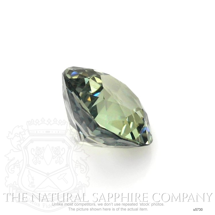 Natural Untreated Yellowish Green Sapphire U5730 Image 3