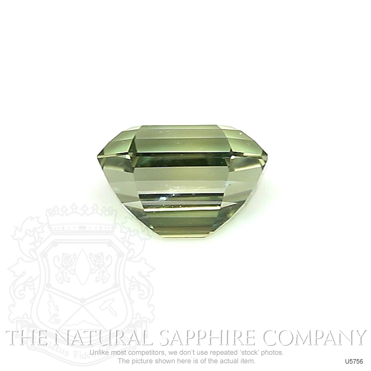 Natural Untreated Yellowish Green Sapphire U5756 Image 2