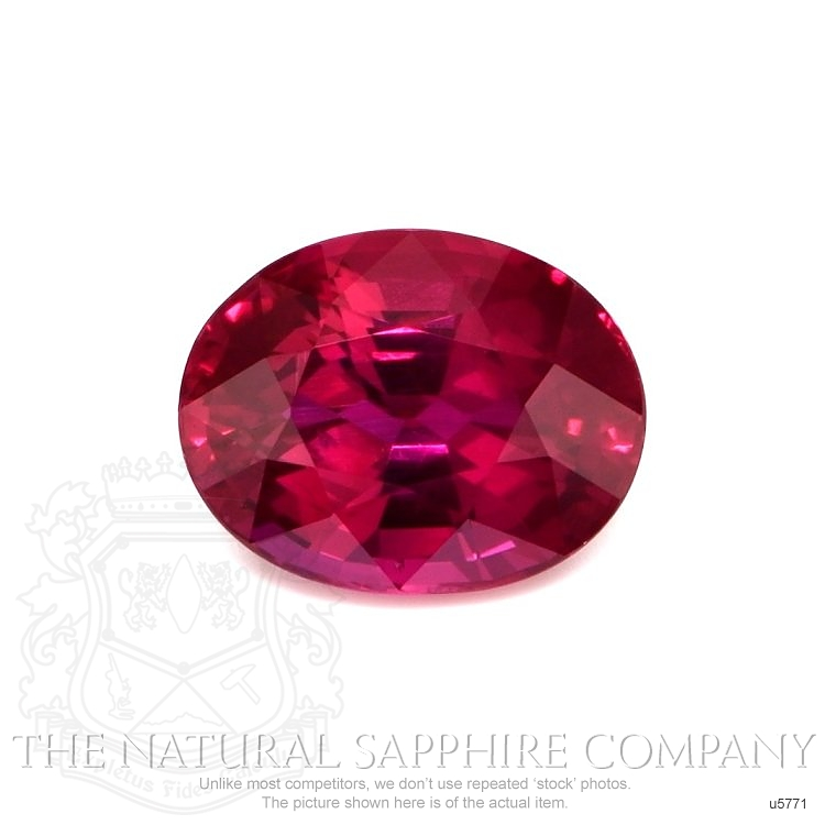 Natural Untreated Ruby U5771 Image