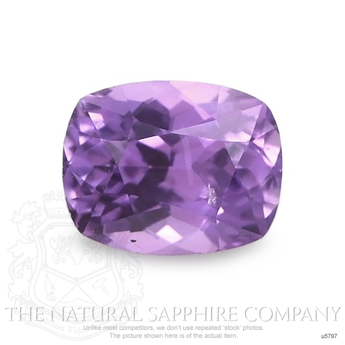 Natural Untreated Purple Sapphire U5797 Image