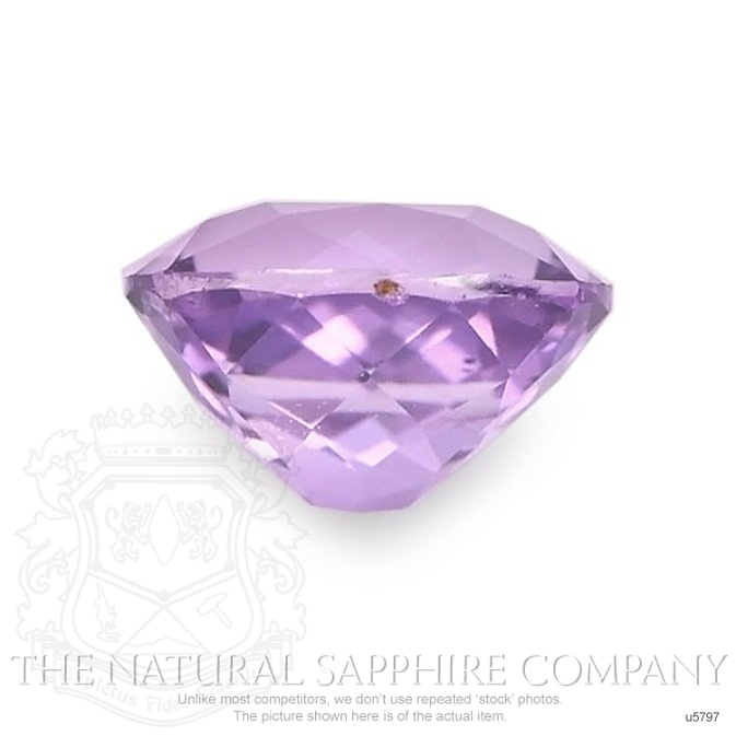 Natural Untreated Purple Sapphire U5797 Image 2