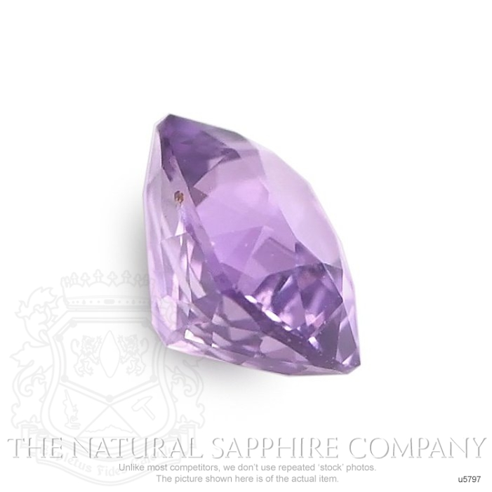 Natural Untreated Purple Sapphire U5797 Image 3