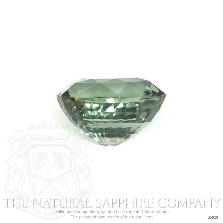 Natural Untreated Green Blue Sapphire U5820 Image 2