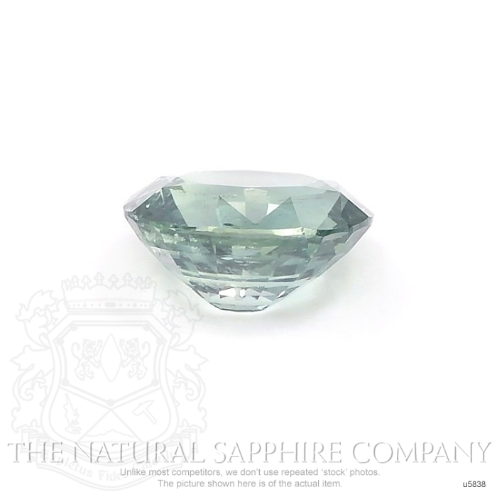 Natural Untreated Green Blue Sapphire U5838 Image 2