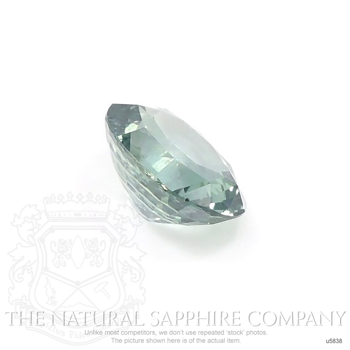 Natural Untreated Green Blue Sapphire U5838 Image 3