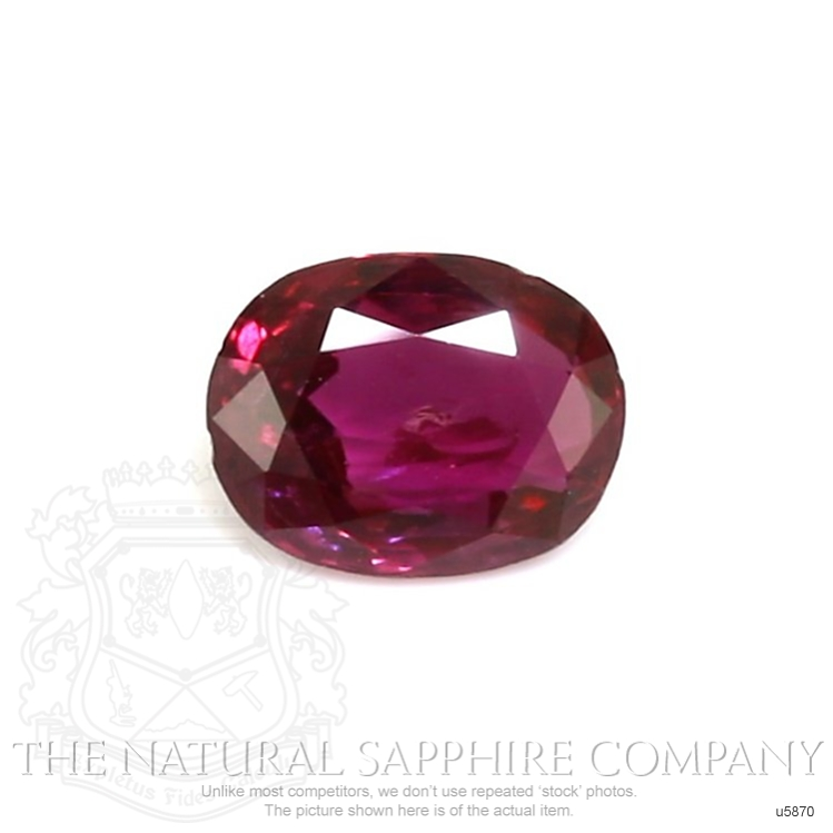 Natural Ruby U5870 Image