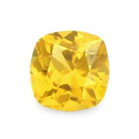 0.47ct Ceylon Cushion Orangish Yellow Sapphire - U5943