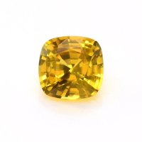1.52ct Ceylon Cushion Yellowish Brown Sapphire - U5952