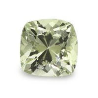1.65ct Ceylon Cushion Yellowish Green Sapphire - U5985