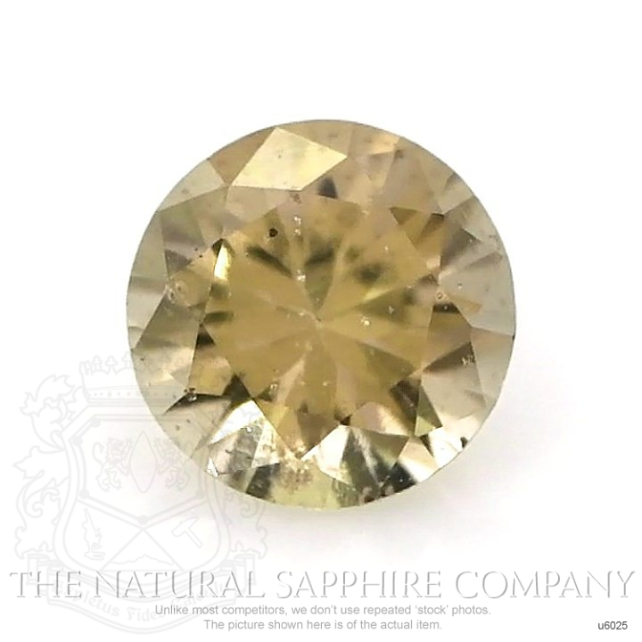 Natural Untreated Yellowish Green Sapphire U6025 Image