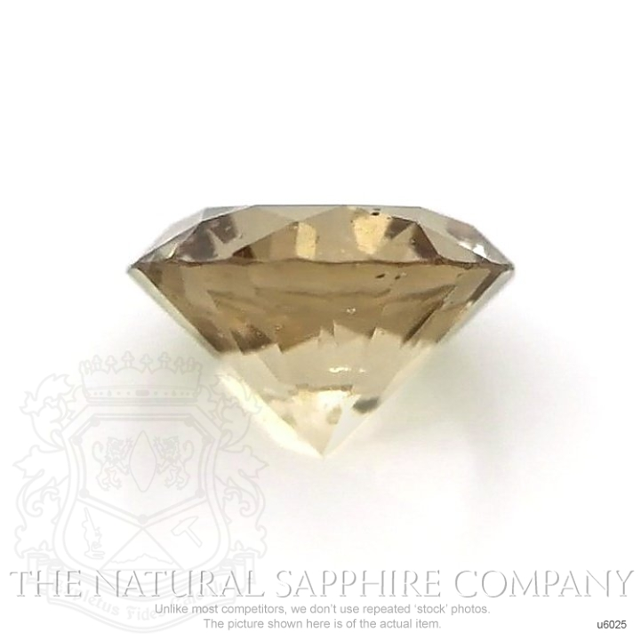Natural Untreated Yellowish Green Sapphire U6025 Image 2