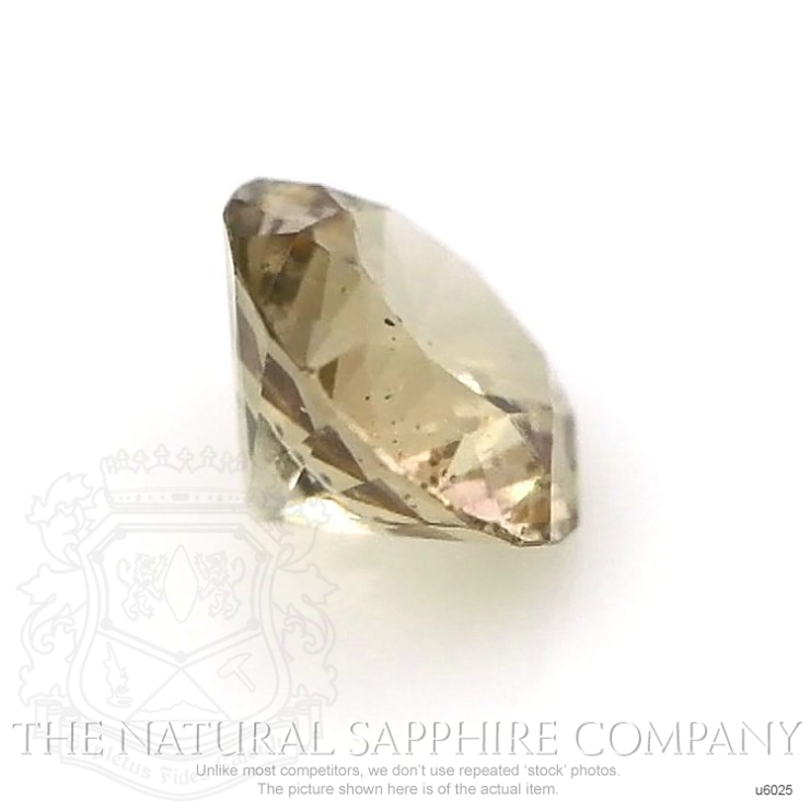 Natural Untreated Yellowish Green Sapphire U6025 Image 3